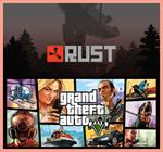 Random Steam Key ✅ (Rust, GTA 5, PUBG) 🔥 + Gifts