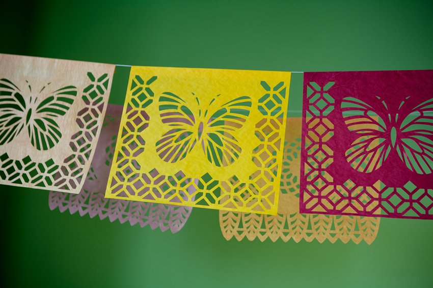 Patterns for cutting Papel Picado