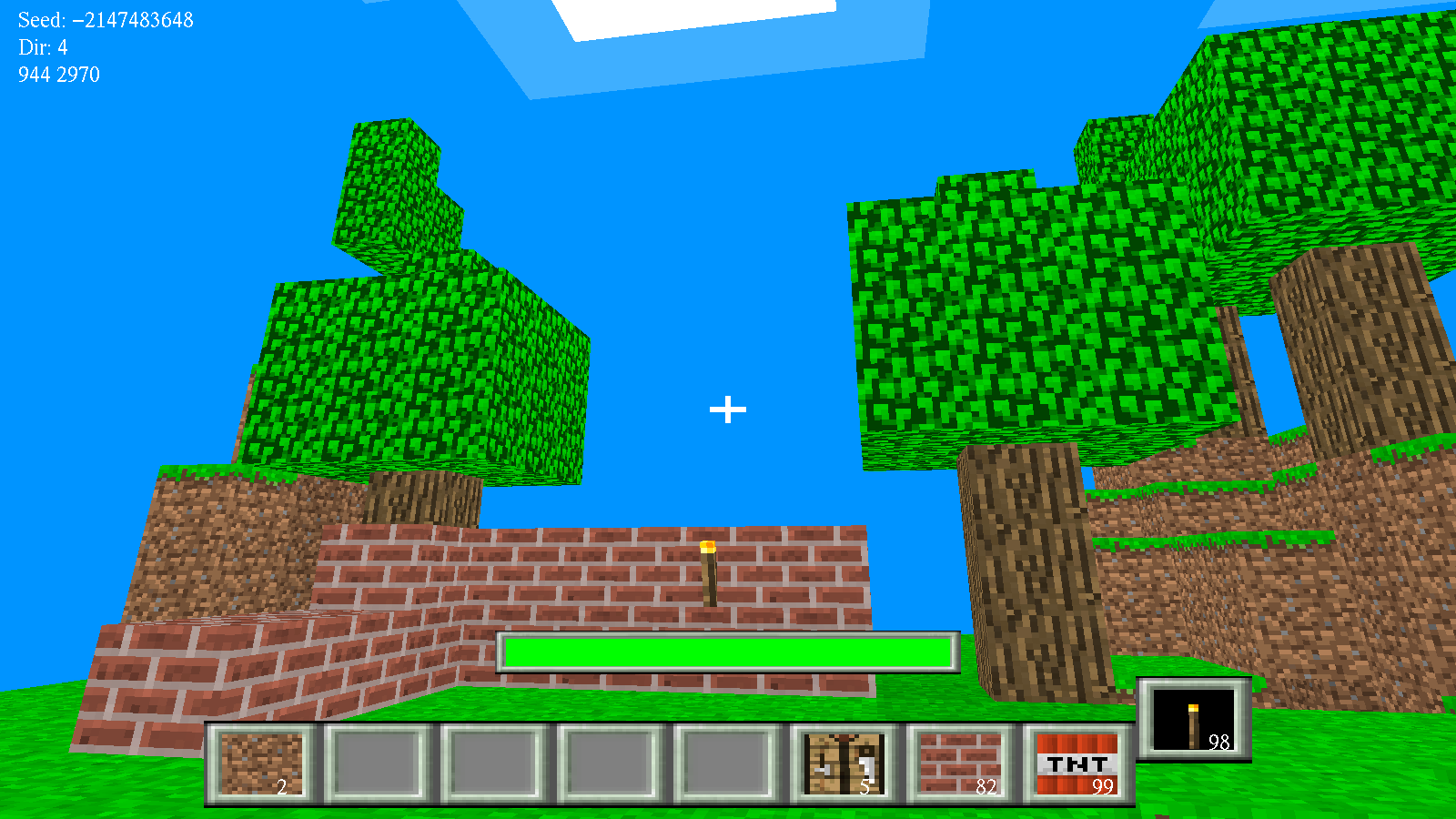 World of Block. С++, OpenGL
