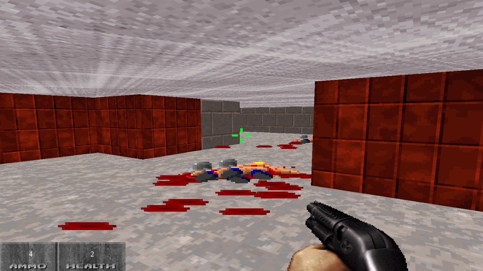 Код игры Doom Remake. Cpp, OpenGL