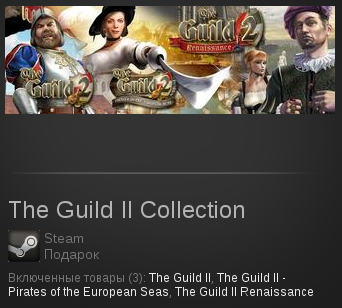 The Guild II Collection | SteamGift RegionFree