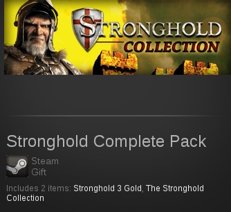 Stronghold Complete Pack | SteamGift RegionFree