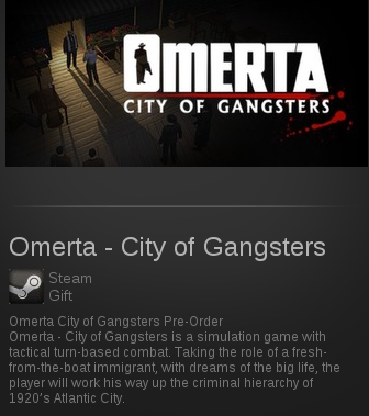 Omerta - City of Gangsters | SteamGift RegionFree