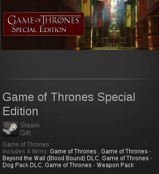 Game of Thrones Special Edition | SteamGift RegionFree