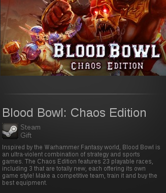 Blood Bowl: Chaos Edition | SteamGift RegionFree