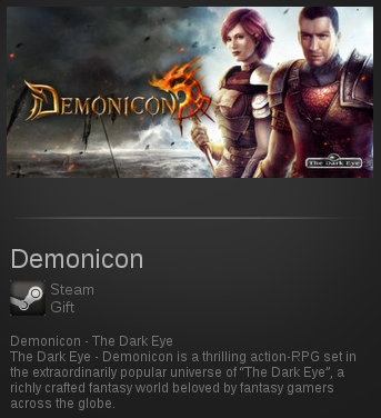 Demonicon - The Dark Eye | SteamGift RegionFree