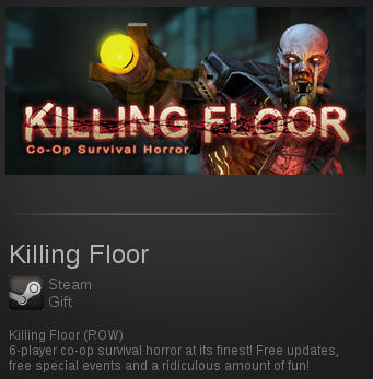 Killing Floor | SteamGift ROW