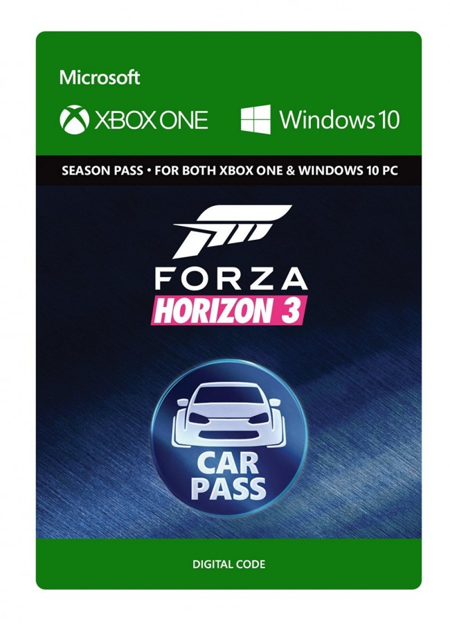 Forza Horizon 3: Car Pass (Xbox One/Win10)