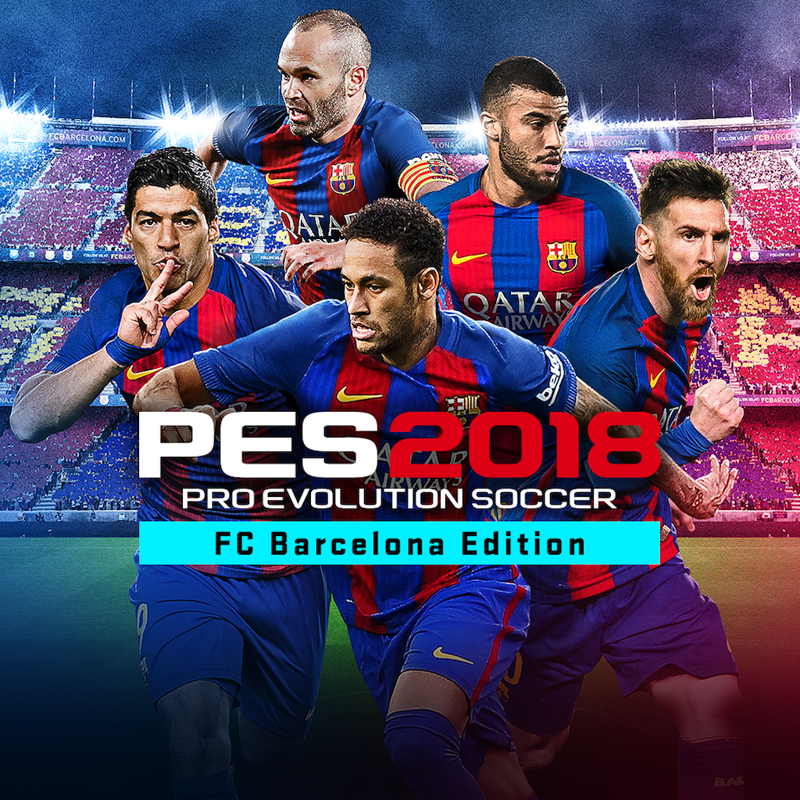 Pro Evolution Soccer 2018: FC Barcelona Edition (Steam)