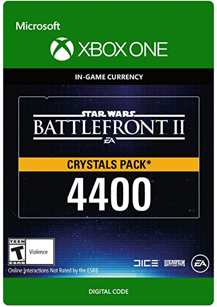 Star Wars Battlefront 2: 4400 Crystals (Xbox One)