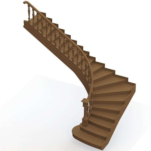Ladder 005 (catalog 3D-Lessons for SolidWorks)