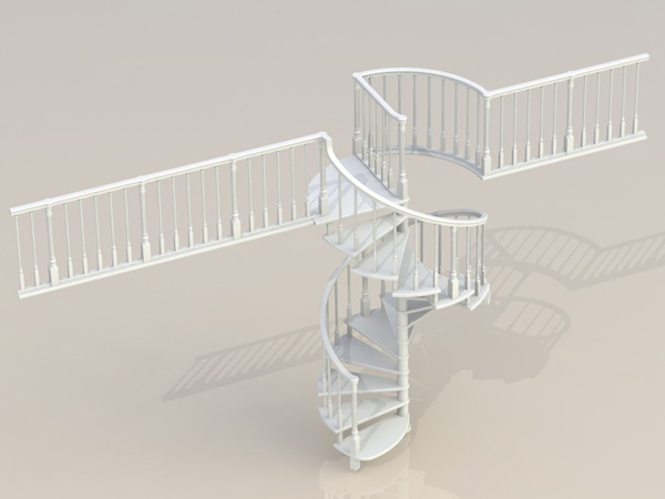 Ladder 012 (catalog 3D-Lessons for SolidWorks)