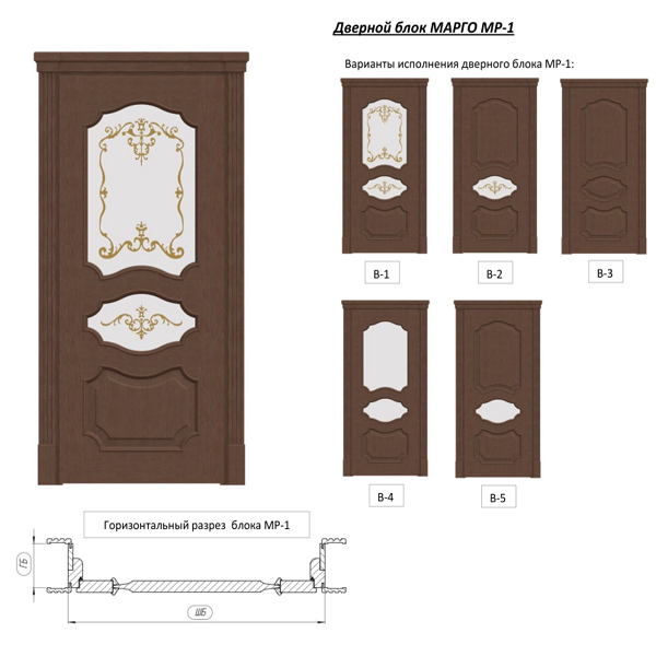 Door unit 012 (catalog 3D-Lessons for SolidWorks)
