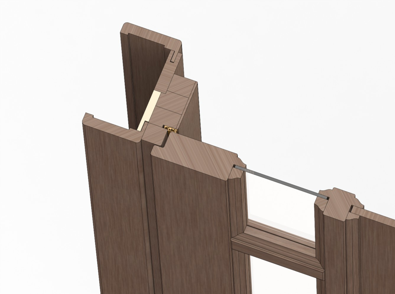 Door unit 015 (catalog 3D-Lessons for SolidWorks)