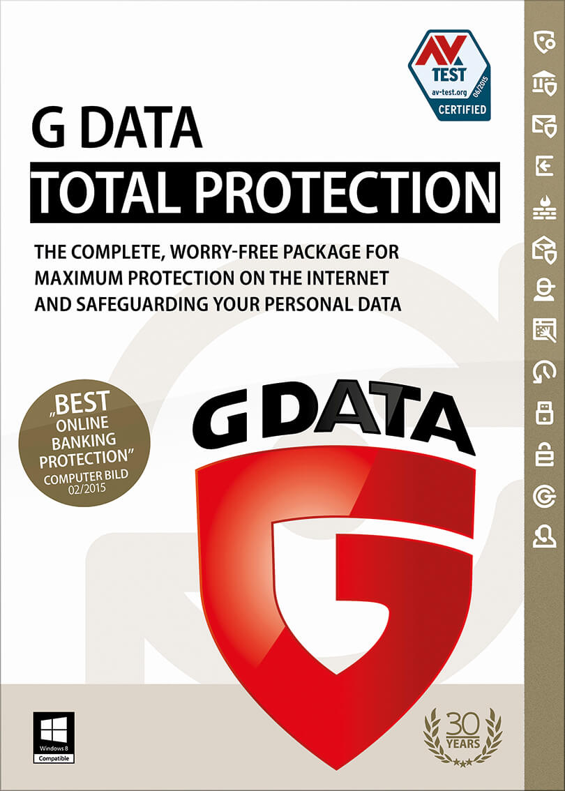 G DATA TotalProtection 1 год 1 ПК