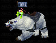WoW Blizzcon 2008 Polar Bear White Polar Bear