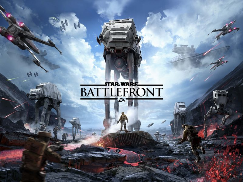 Star Wars Battlefront + Answer the question + Bonus