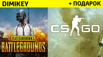 PLAYERUNKNOWN'S BATTLEGROUNDS + CS:GO PRIME [STEAM]