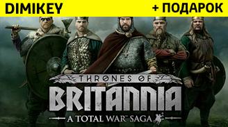 total war saga thrones of britannia + skidka [steam] 99 rur