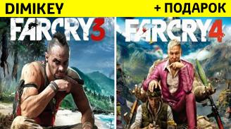 farcry 4 + farcry 3 s garantiey ✅ 199 rur