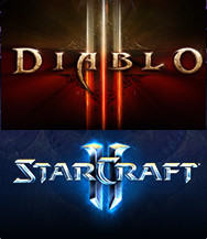 Купить Diablo III+StarCraft II:Wings of Liberty [BATTLE.NET]