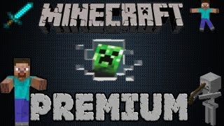 MINECRAFT PREMIUM - Website + launcher + no seqret ques