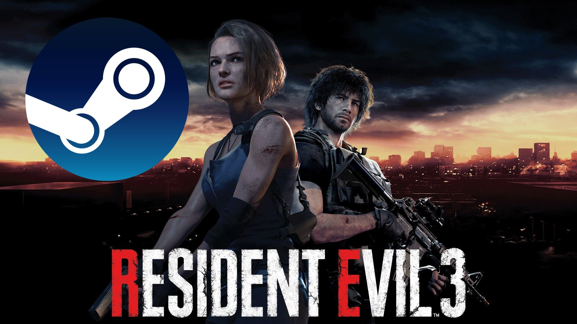 RESIDENT EVIL 3 / BIOHAZARD RE 3 (STEAM) (Region free)