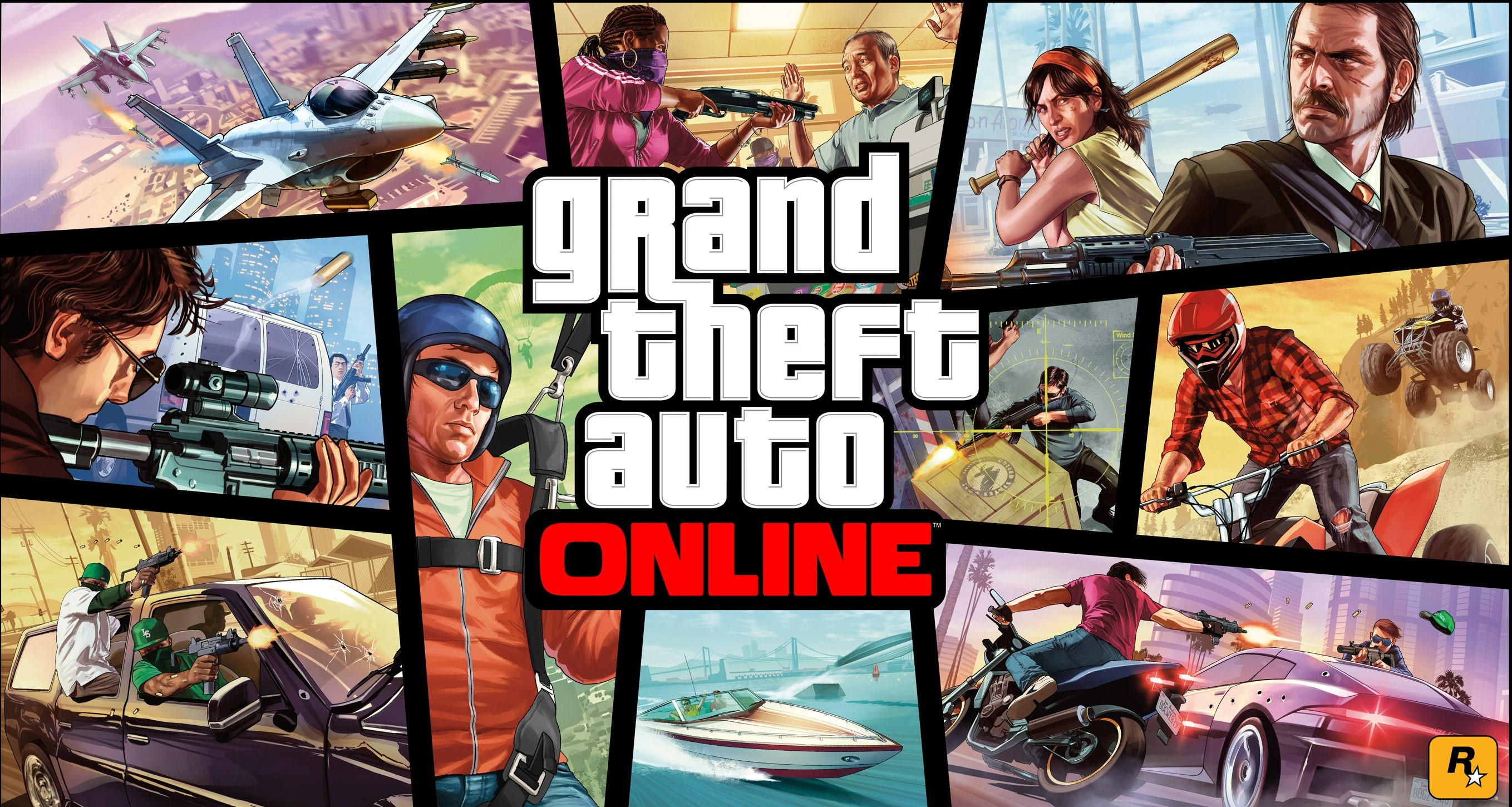⭐️ STEAM GTA 5 V ONLINE (Region Free) + BONUS