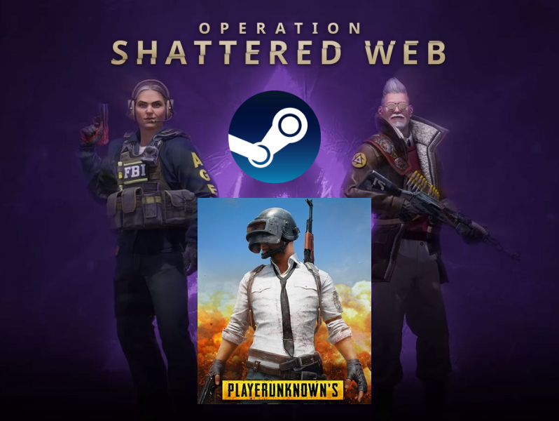 ⭐️ STEAM CS GO Global Offensive + PUBG ONLINE (Reg Free
