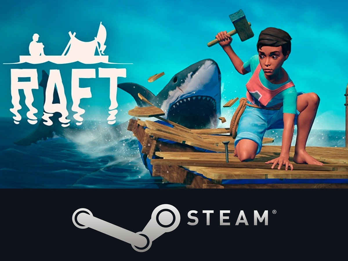 🐋 Raft - STEAM (Region free) + БОНУС (РАФТ)
