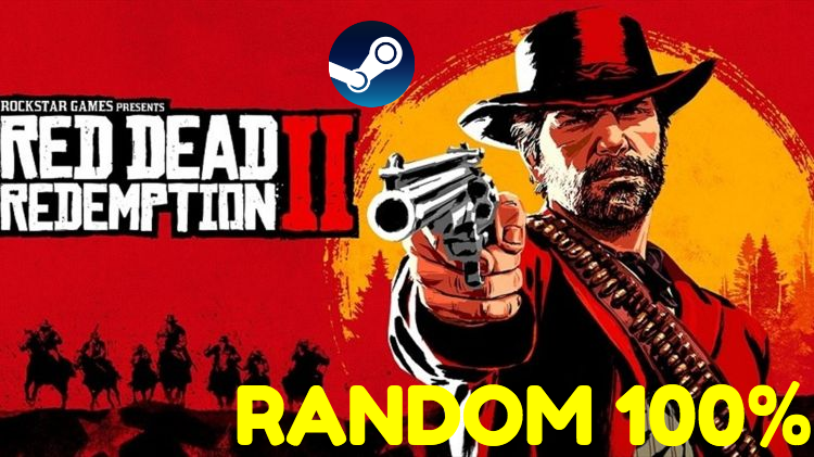 Рандом (100%) Red Dead Redemption 2 - STEAM RDR 2