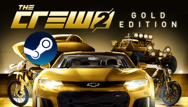 🏍 🏎 The Crew 2 Gold Edition (STEAM) (Region free)