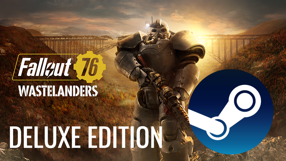 🍋 Fallout 76 Wastelanders Deluxe (STEAM) (Region free)