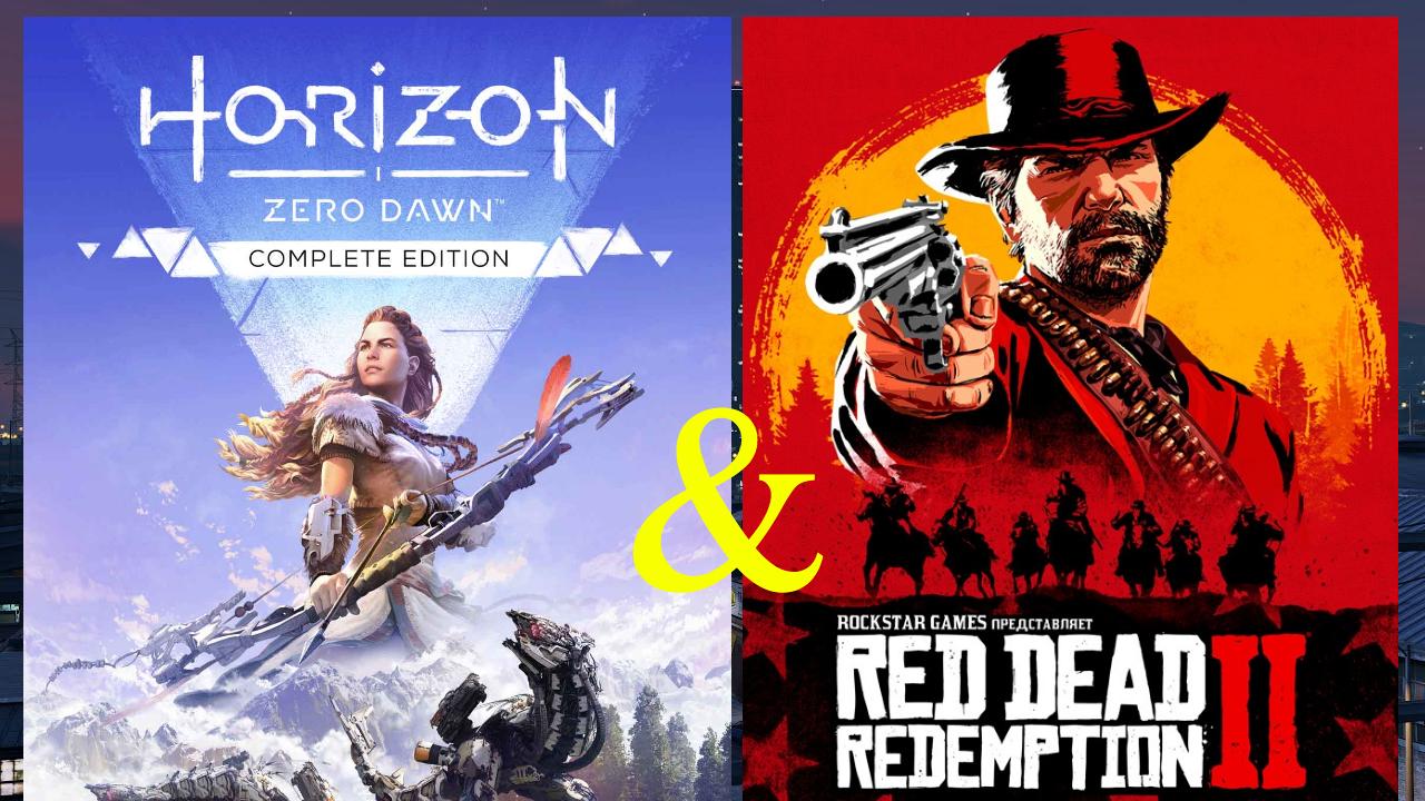 🚀 Horizon Zero Dawn + DLC+ Red Redemption 2 (GLOBAL)