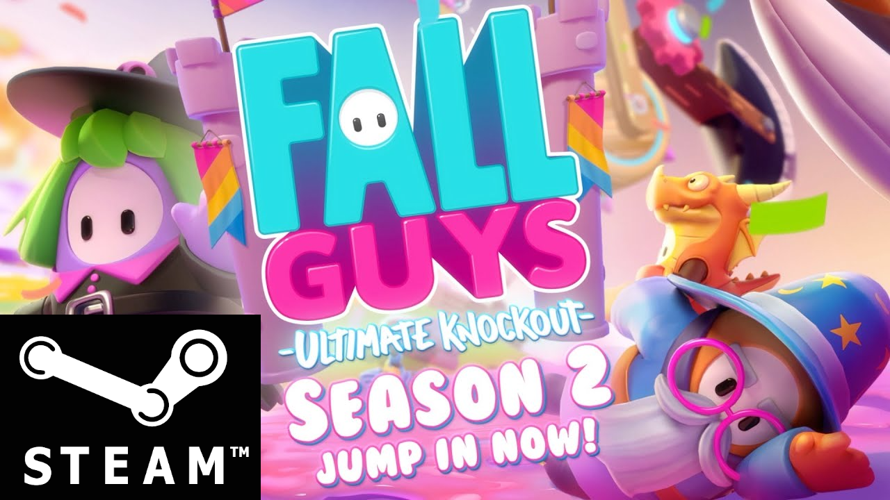 ⭐ Fall Guys Ultimate Knockout Online STEAM(Region Free)