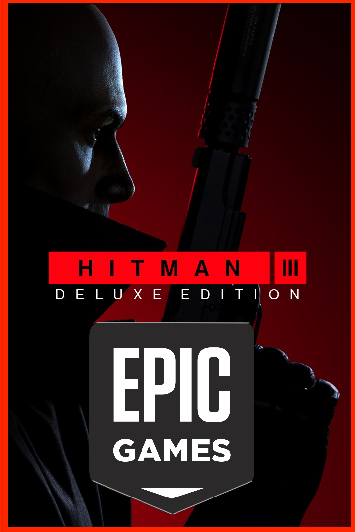 ⭐️ HITMAN 3 + DLC+ Deluxe Edition - EPICA (GLOBAL)