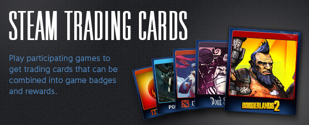 Cards for Steam (5+ cards, +100 XP)