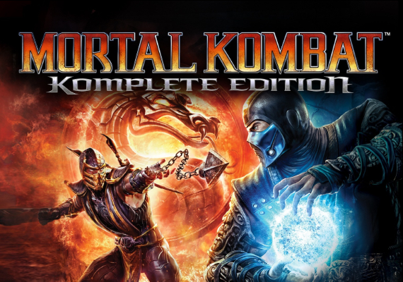 Фотография mortal kombat: komplete ed. steam key region free rare