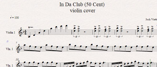 Josh Vietti–Josh Vietti - In Da Club (50 Cent) - Violin