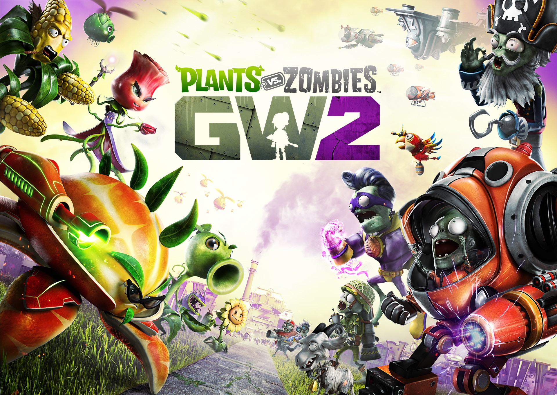 Plants vs Zombies garden warfare 2 [ Origin Аккаунт ]