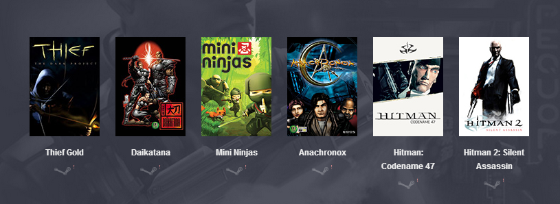 HUMBLE SQUARE ENIX BUNDLE [STEAM]