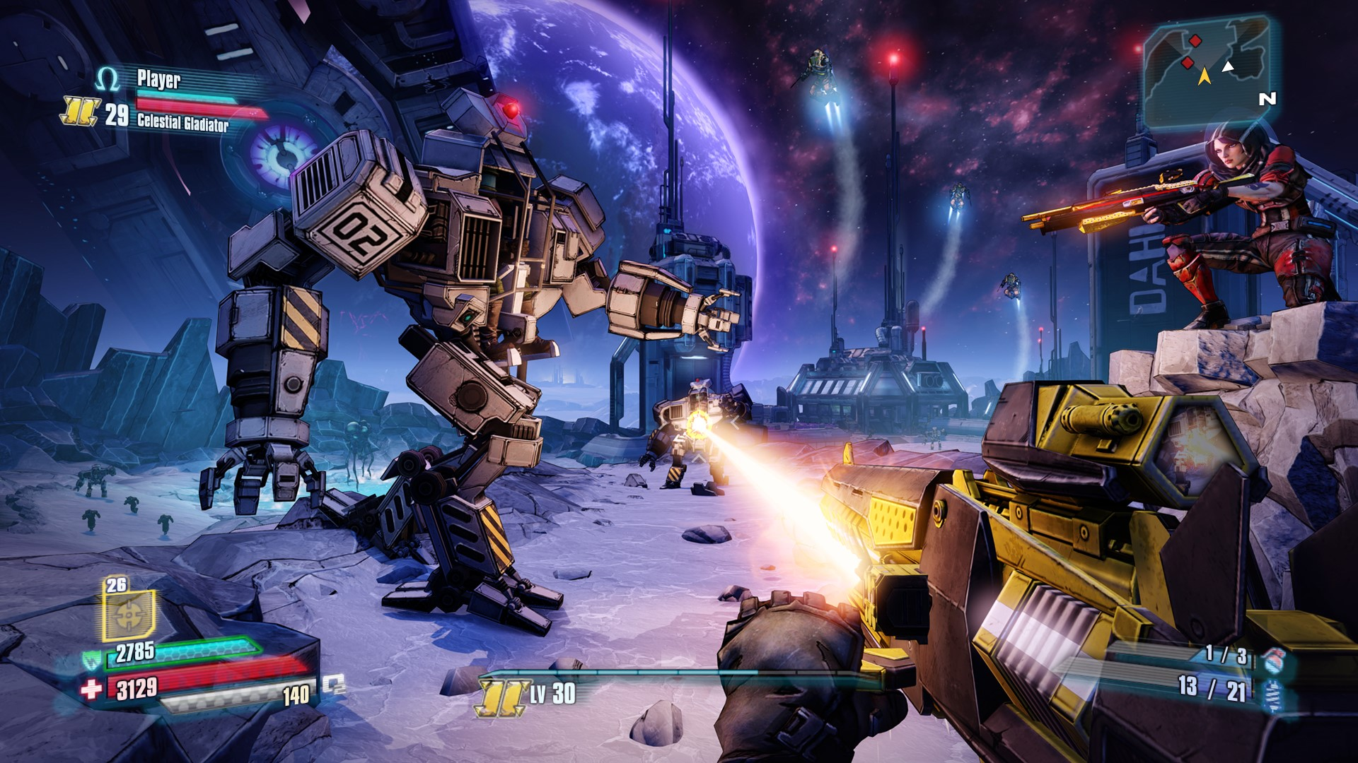 Borderlands: The Pre-Sequel (Steam) RU+CIS+UA