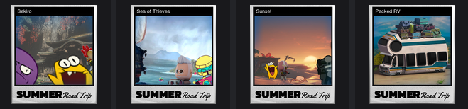 Steam Summer Sale 2020 Trading Cards | Summer Road Trip