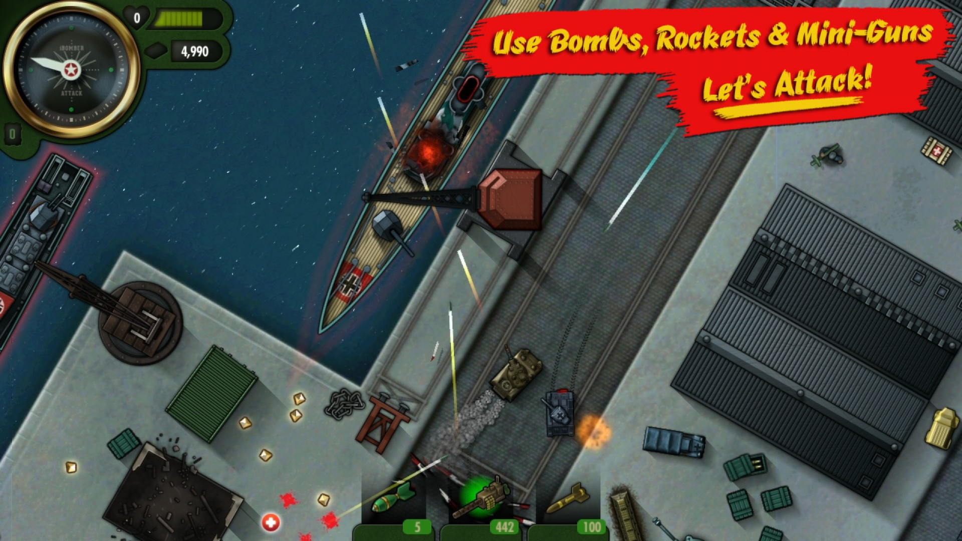 iBomber Attack (Steam) Region Free