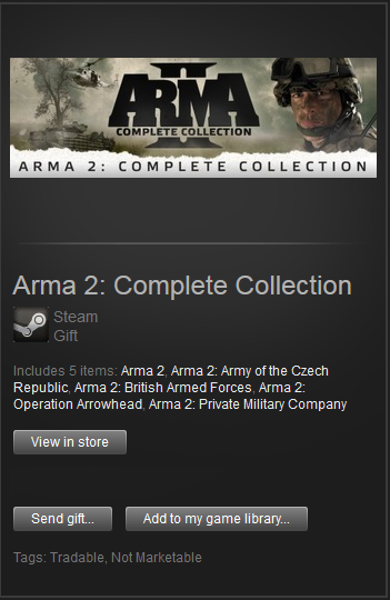 Arma II 2 Complete Collection + DayZ (Steam Gift) ROW