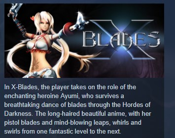 Фотография x-blades steam key region free global 💎