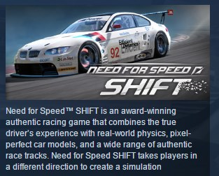 Need for Speed: Shift  STEAM GIFT RU + CIS 💎