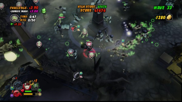 All Zombies Must Die: Scorepocalypse STEAM KEY GLOBAL