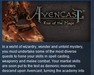 Avencast: Rise of the Mage STEAM KEY REGION FREE GLOBAL