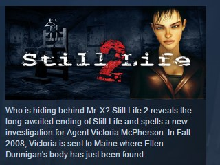 Still Life 2 ( Steam Key / Region Free ) GLOBAL ROW
